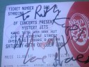 Ticket signed by 3 of 4 Jets