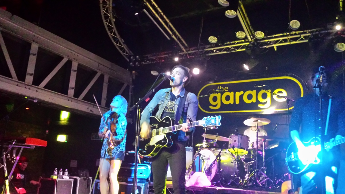 The airborne toxic event the garage glasgow 18th april for The garage glasgow