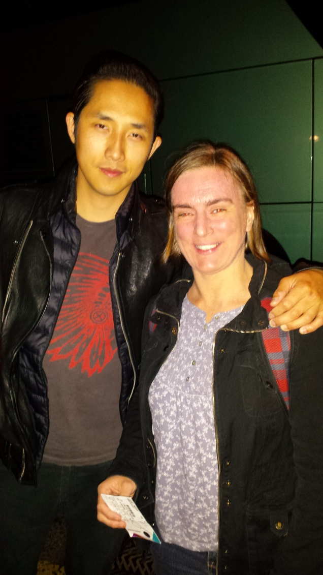 Me and Steven Chen. He's so cool.